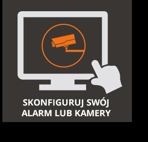 Konfiguracja alarmu lub kamery